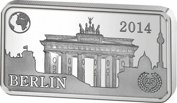2 Dollars Salomonen Berühmte Wahzeichen Deutschland Berlin Brandenburger Tor 2014