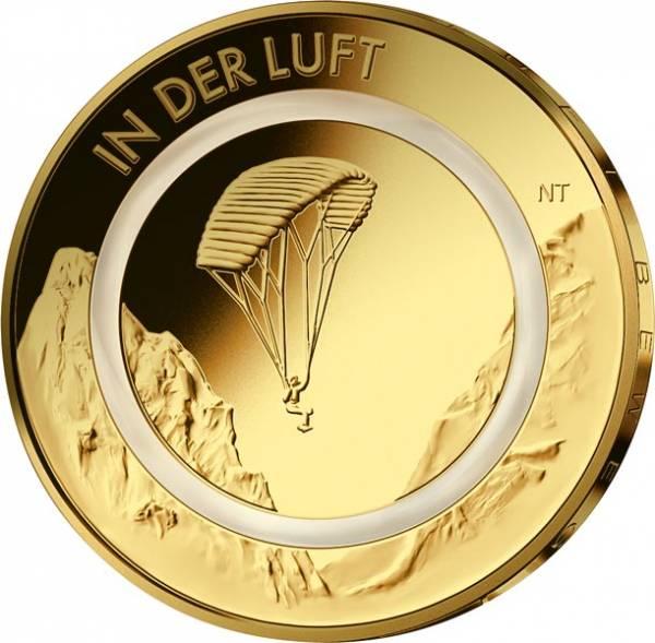 10 Euro BRD In der Luft 2019 vollvergoldet