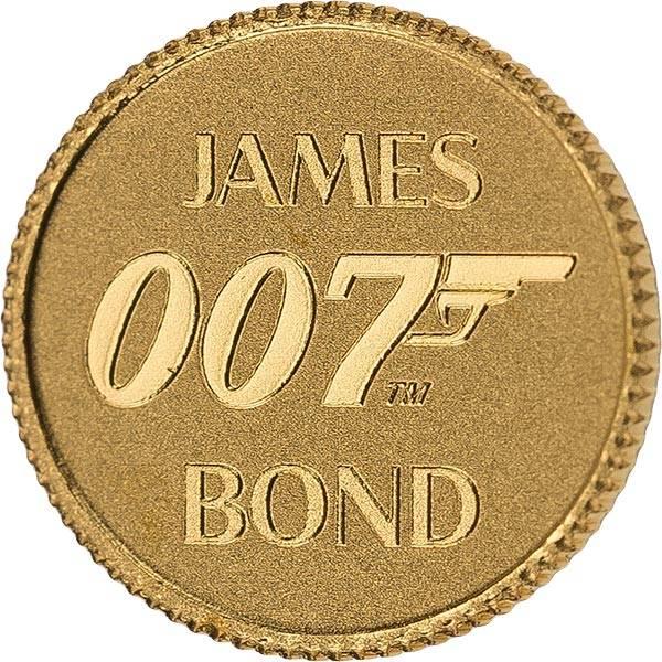 2 Dollars Tuvalu James Bond 2020