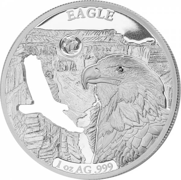 5 Dollars Barbados Eagle 2018