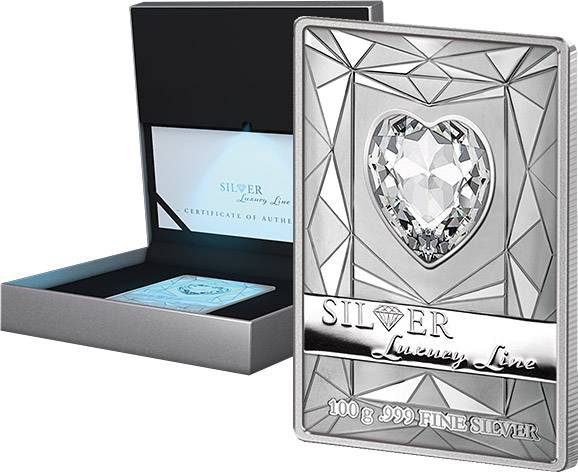 20 Dollars Cook-Inseln Silver Luxury Line 2014 Prooflike