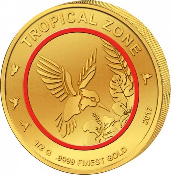 100 Francs Tschad Kolibri Tropische Zonen