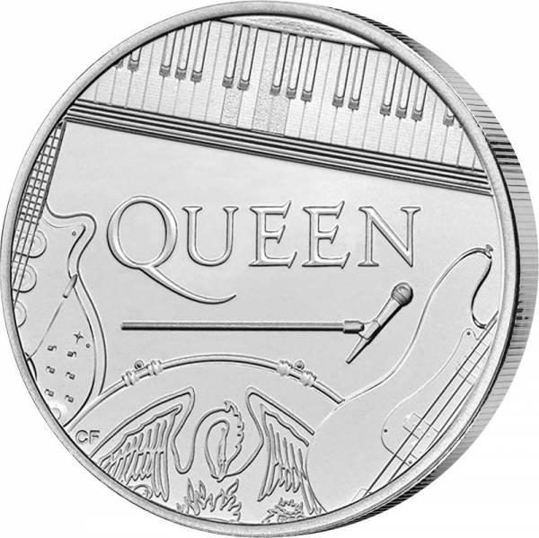 5 Pounds Großbritannien Queen Musiklegende 2020