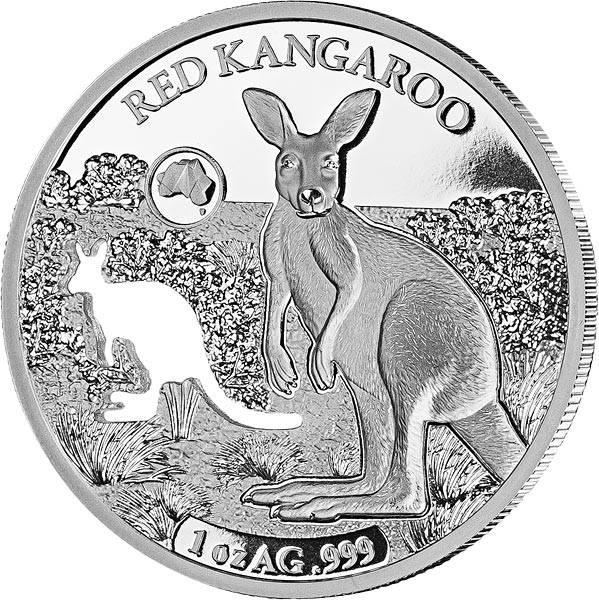 5 Dollars Salomonen Känguru 2019