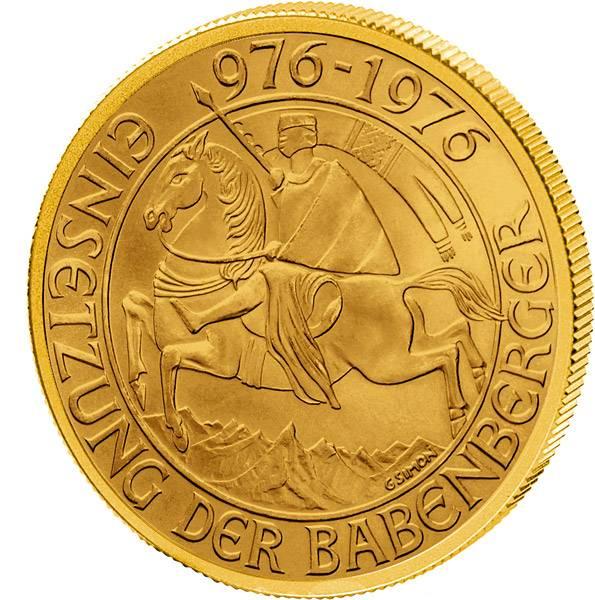 1.000 Schilling Österreich Babenberger 1976