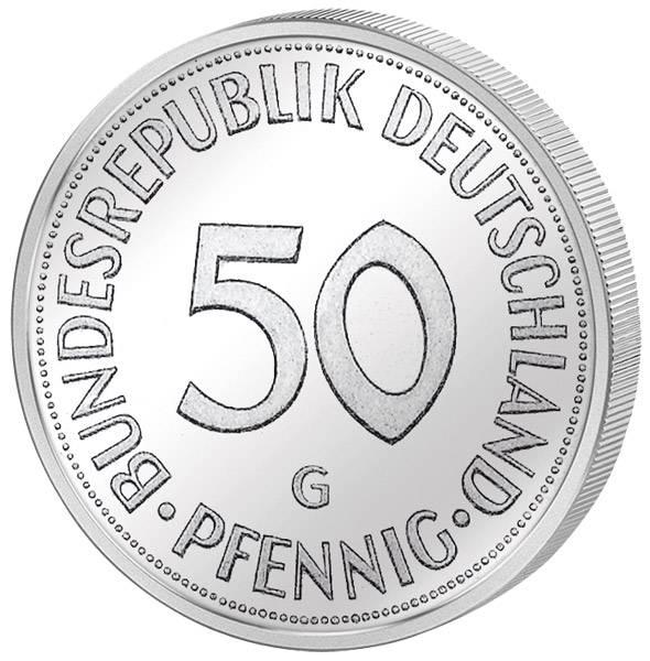 50 Pfennig BRD 1950-2001