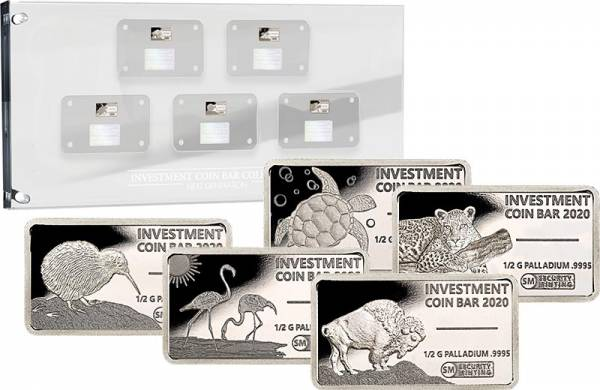 Investment Coin Bar Collection Next Generation 2020