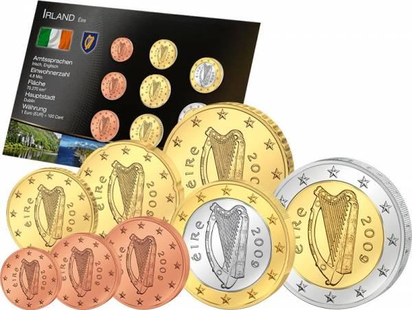 Premium-Euro-Kursmünzensatz Irland