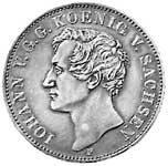 Taler Johann 1854-1873 Vorzüglich