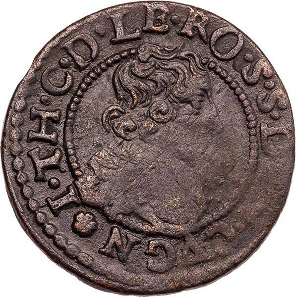 Double Tournois Löwenstein-Wertheim-Rochefort Graf Johann Theodor 1633-1635 + 1643