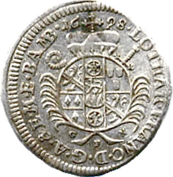 1 Batzen Bamberg 1696,98,1700,16 sehr schön