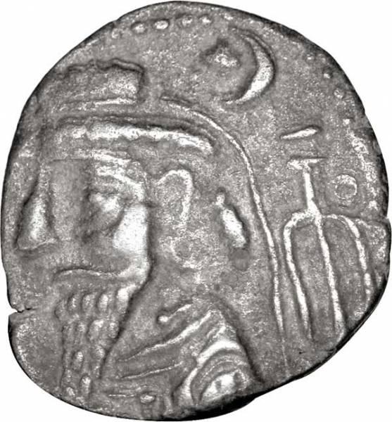 Tetradrachme Elymais Kamnaskires III. 82-75 v. Chr. Sehr schön