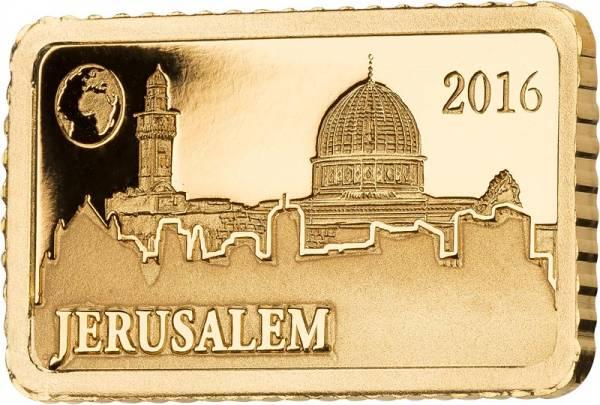 10 Dollars Salomonen Jerusalem Felsendom 2016