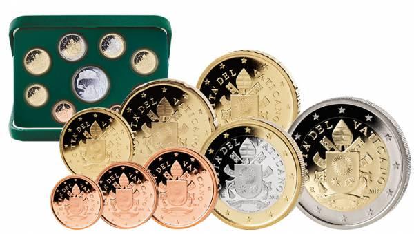 Euro-Kursmünzensatz Vatikan 2018 inklusive 20-Euro-Silbergedenkmünze