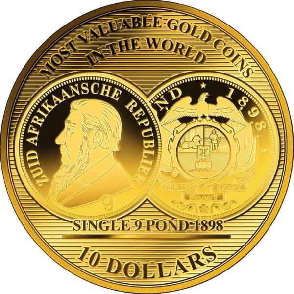 10 Dollars Salomonen Single 9 Pond 2017