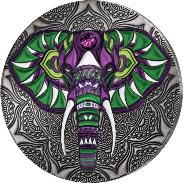 2 Cedis Ghana Elefant 2020