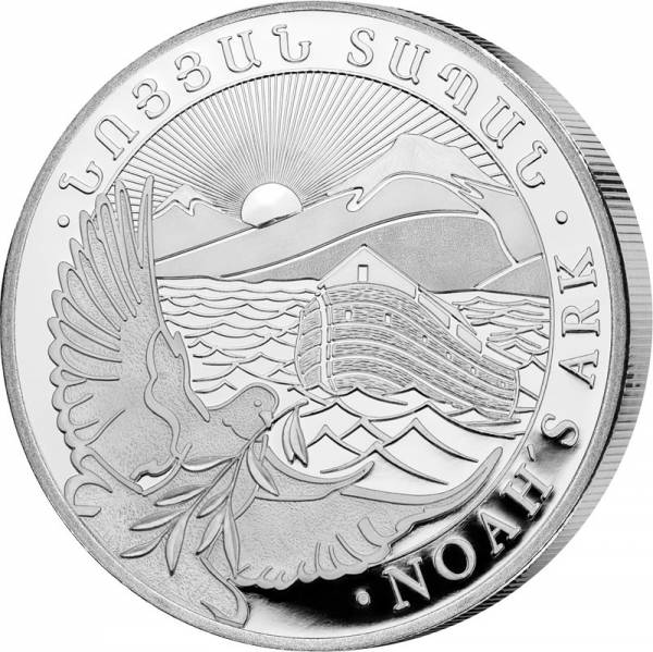 1 Unze Silber Armenien Arche Noah 2021