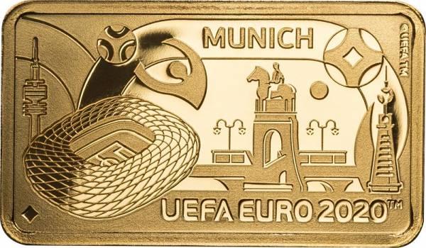 1 Pound Gibraltar Fußball Europameisterschaft München 2020