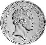 Taler Friedrich Wilhelm IV. 1841 ss-vz