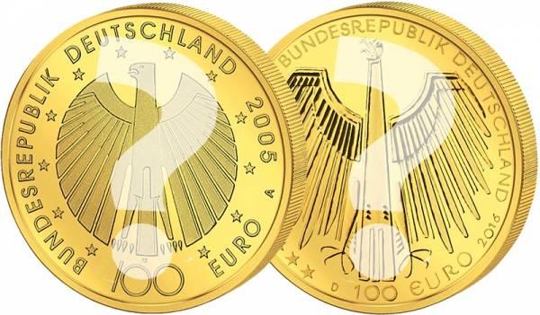 2 x 100 Euro BRD Motive unserer Wahl