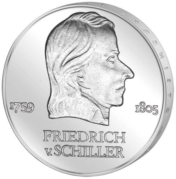 20 Mark DDR Friedrich Schiller 1972