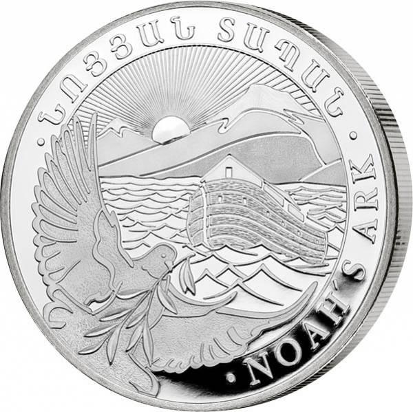 1 Unze Silber ArmenienArche Noah 2019