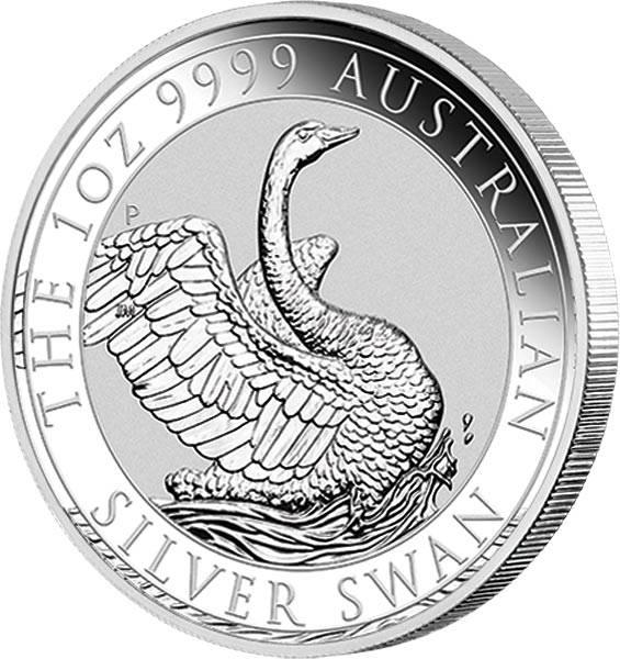 1 Unze Silber Australien Schwan