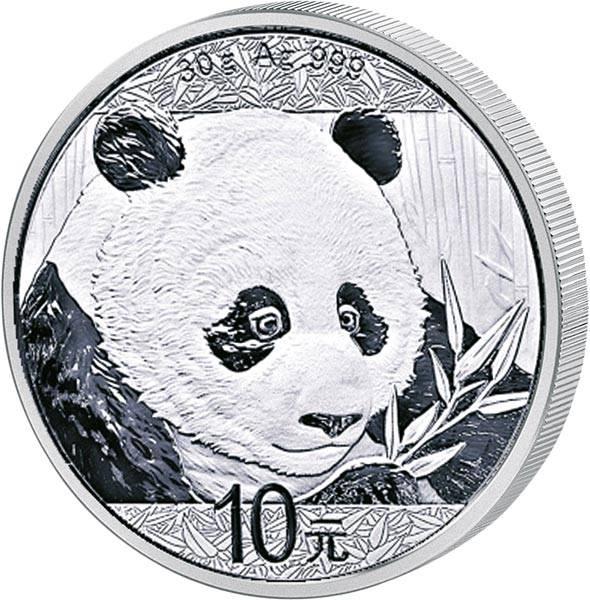 10 Yuan China Panda 2018