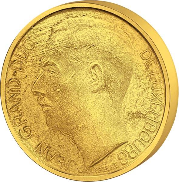 20 Francs Luxemburg Großherzog Jean 1964