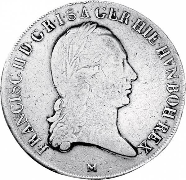 Kronentaler Römisch-Deutsches Reich Kaiser Franz II.