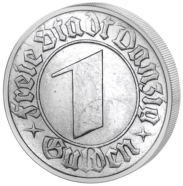 1 Gulden Wappen von Danzig 1932