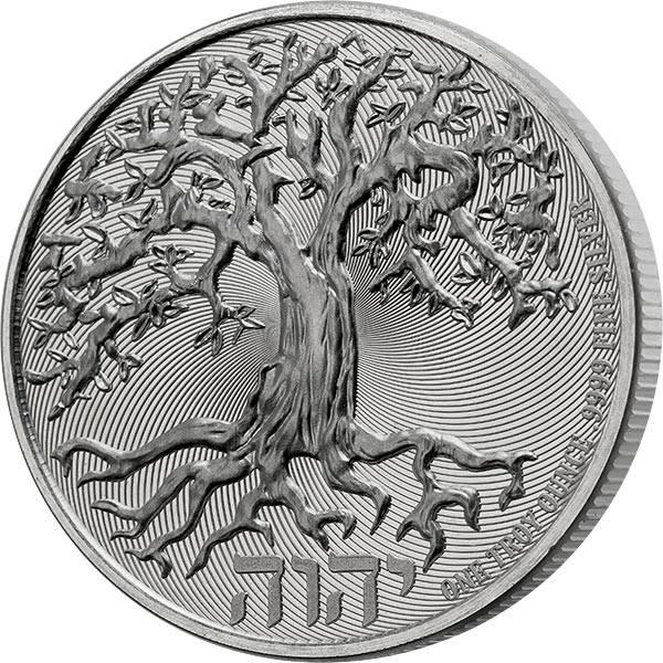 1 Unze Silber Niue Lebensbaum 2021