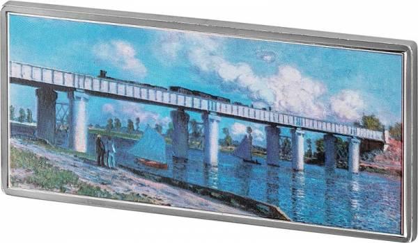 1/2 Dollar Samoa Claude Monet Eisenbahnbrücke 2019