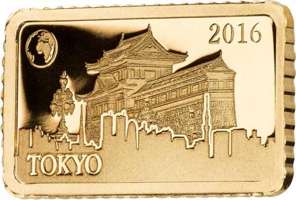 10 Dollars Salomonen Tokio Kaiserpalast 2016