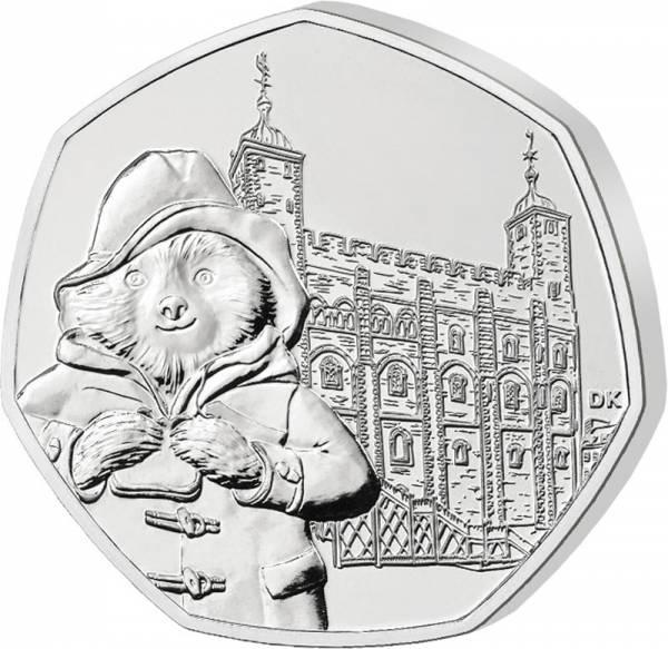50 Pence Großbritannien Paddington at the Tower 2019