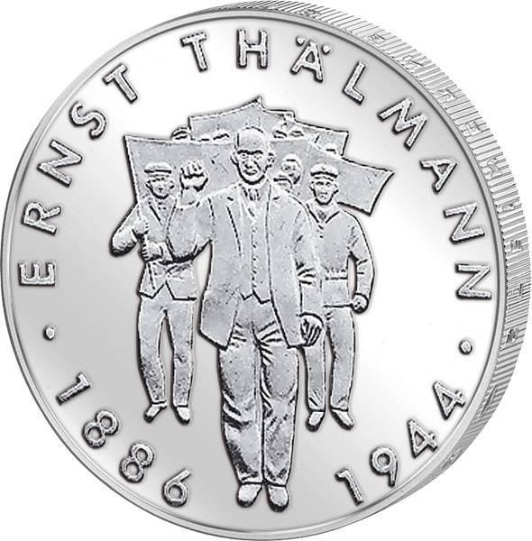10 Mark DDR Ernst Thälmann 1986