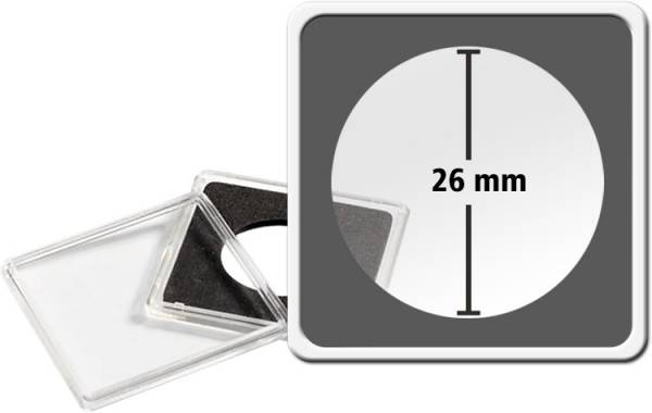Quadrum Intercept-Kapsel Durchmesser 26 mm