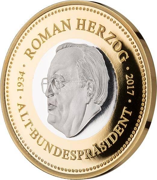 Gedenkprägung Roman Herzog