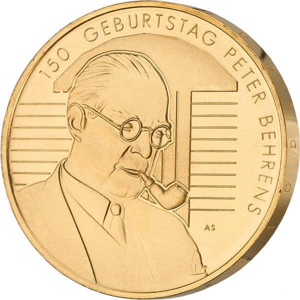 20 Euro BRD 150. Geburtstag Peter Behrens 2018
