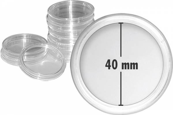 10er-Pack Münzkapseln Innendurchmesser 40 mm