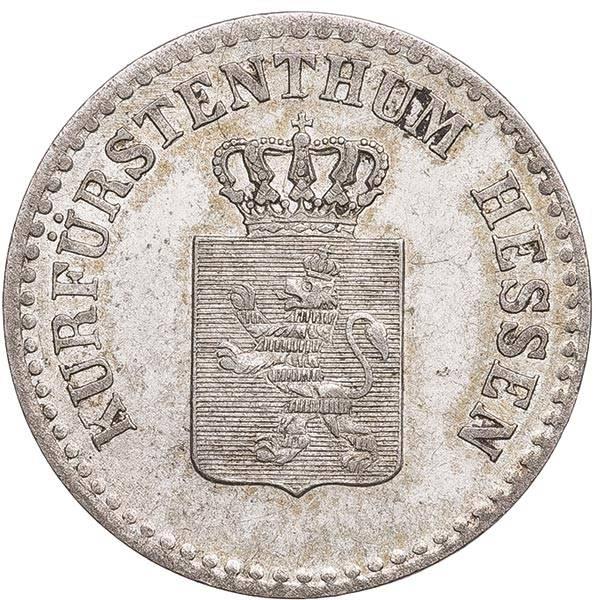 1 Groschen Hessen-Kassel Kurfürst Wilhelm II. und Freidrich Wihelm 1841/45/47