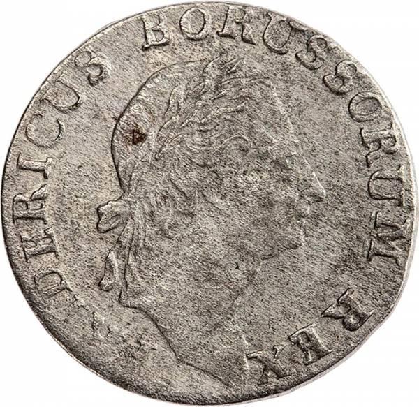 3 Kreuzer Preußen Provinz Schlesien König Friedrich II 1782
