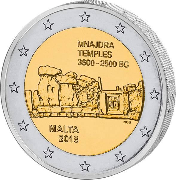 2 Euro Malta Mnajdra 2018