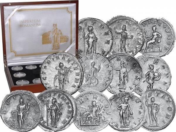 12 Antoniniane Götter der Antike