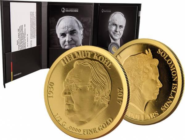 10 Dollars Salomonen Helmut Kohl 2017