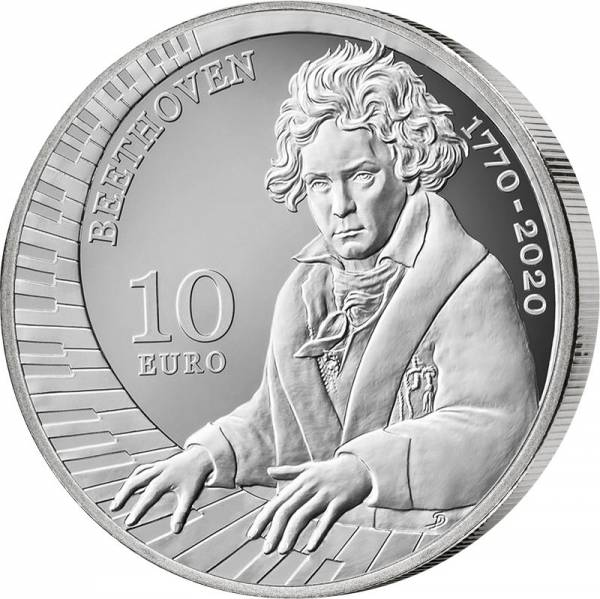 10 Euro San Marino Beethoven 2020
