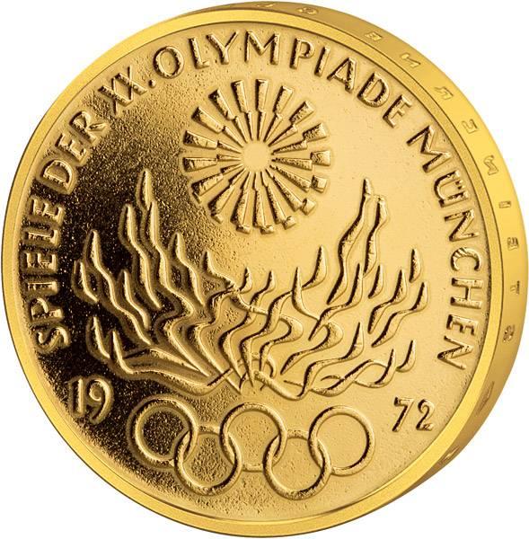 10 DM BRD Olympisches Feuer 1972