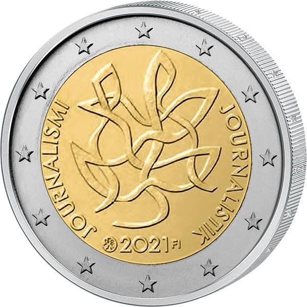 2 Euro Finnland Journalismus und Redefreiheit 2021