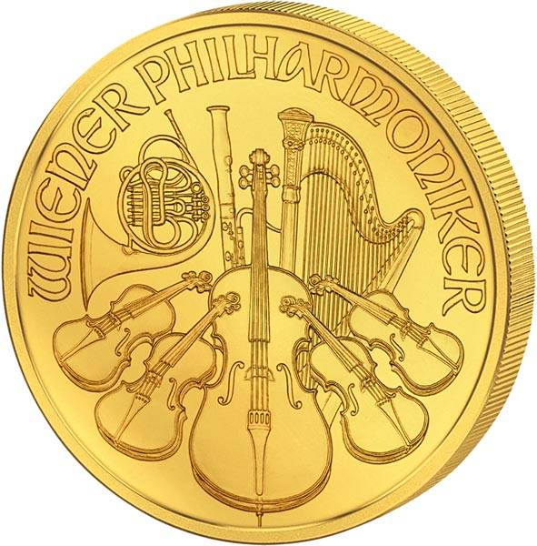 1/4 Unze Gold Österreich Philharmoniker 2019