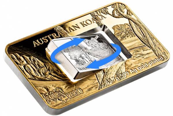 5 Dollars Niue Four Verso Koala 2018